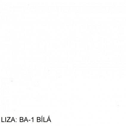 Koženka Liza BA1 Bílá
