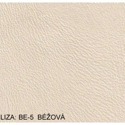 Koženka Liza BE5 Béžová (Ekokůže)