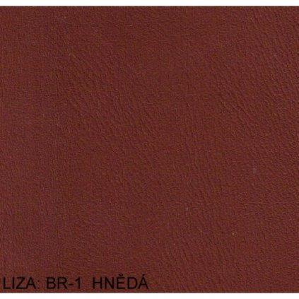 Koženka Liza BR1 Hnědá (Ekokůže)