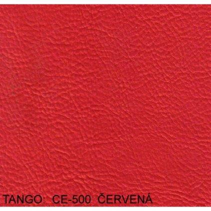 Koženka Tango CE500 Červená (Ekokůže)