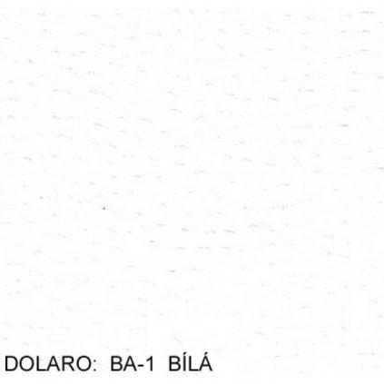 Koženka Dolaro BA  1  bílá