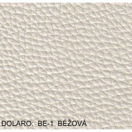 Koženka Dolaro BE 1  Béžová