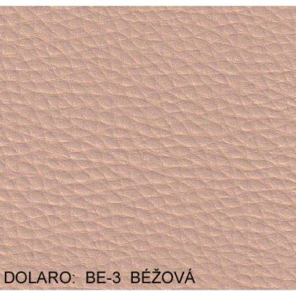 Koženka Dolaro BE 3 Béžová