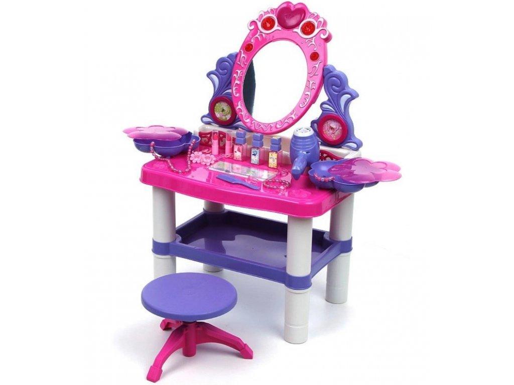 detsky kosmeticky stolek se zvuky