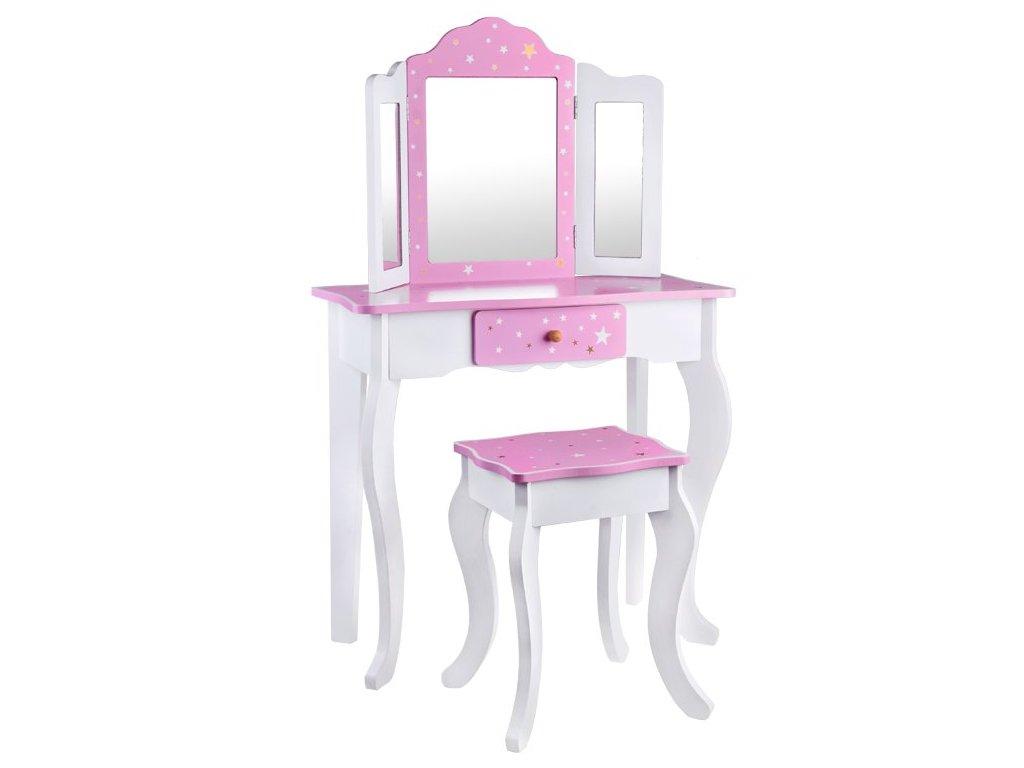 elegantni toaletni stolek se zrcadlem