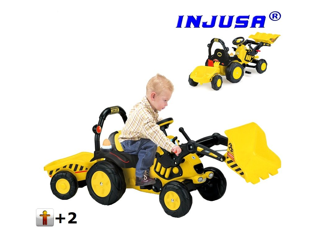 injusa slapaci traktor tractor excavator 410