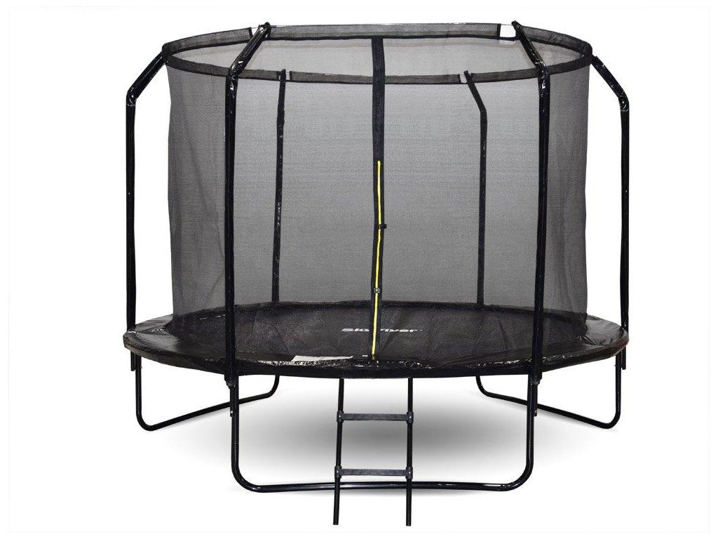 zahradni trampolina sky flyer ring 2v1 305 cm