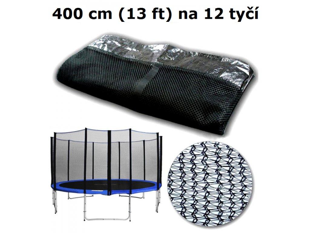 ochranna sit na trampolinu 400 cm 13 ft na 12 tyci