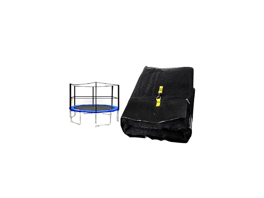ochranna sit na trampolinu 500 cm 16 ft na 6 tyci