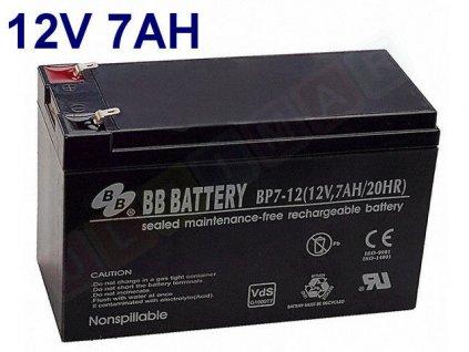gelova nabijeci baterie 12 v 7 ah 20 hr
