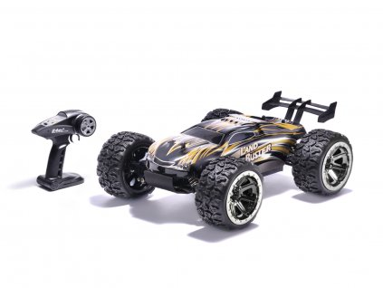 rc auto land buster 2 4ghz zlute