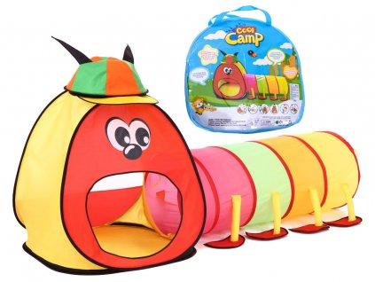 detsky stan s tunelem stonozka