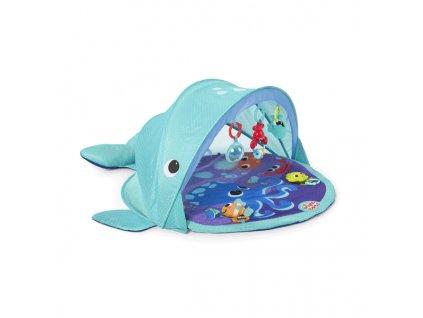 bright starts hraci podlozka velryba s pristreskem