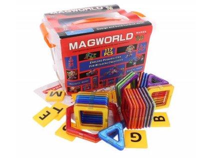 doris interaktivni magneticka stavebnice 117ks