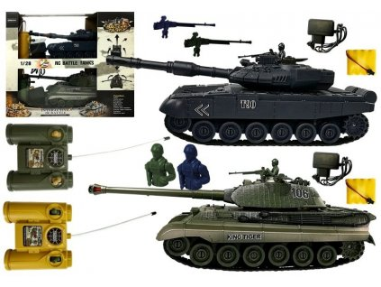 hdk rc soubojove tanky 1 28