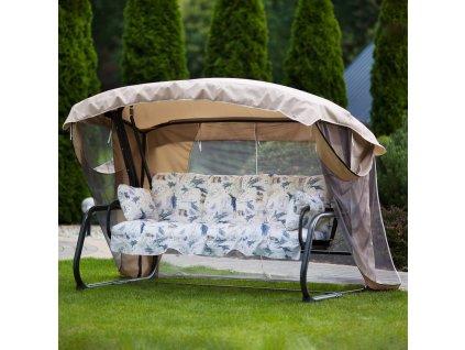 zahradni houpacka ravenna lux s moskytierou a083 08hb patio