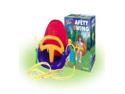detska plastova houpacka 3v1 safety swing