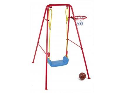 detska houpacka s basketbalovym kosem