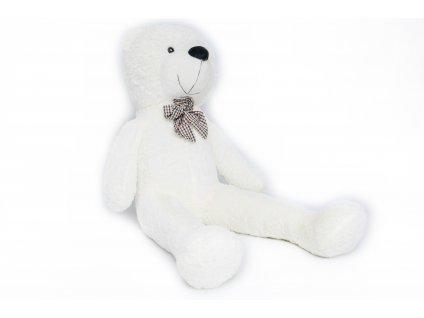 velky plysovy medved classico 160 cm bily