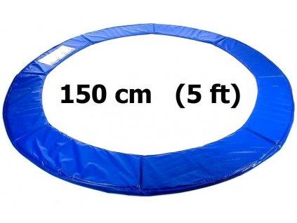 kryt pruzin na trampolinu 150 cm 5 ft modry