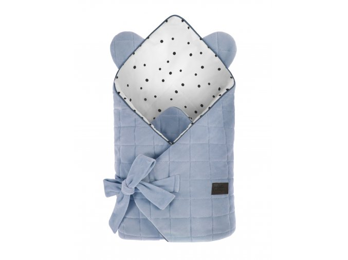 Zavinovačka Sleepee Royal Baby Swaddle Wrap modrá