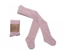 Mama's Feet Dívčí punčocháče Stephanie růžové
