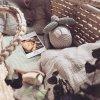 Ahojbaby Mojžíšův koš miminko natural + matrace