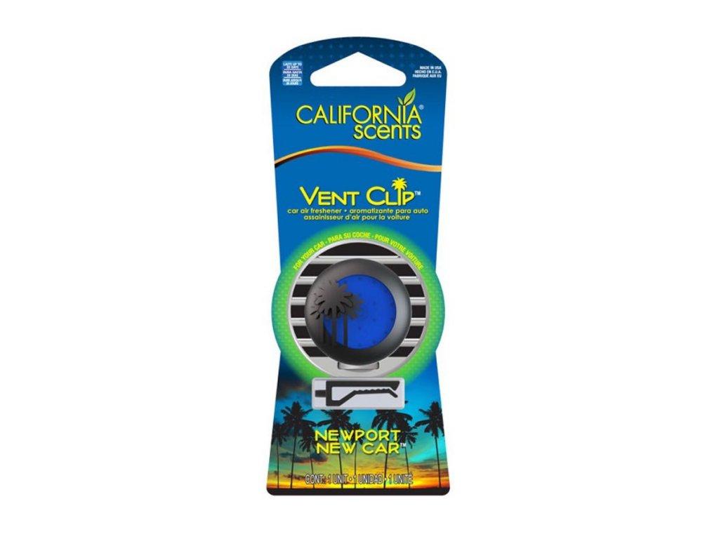 California Scents Vent Clip NOVÉ AUTO (newport new car)