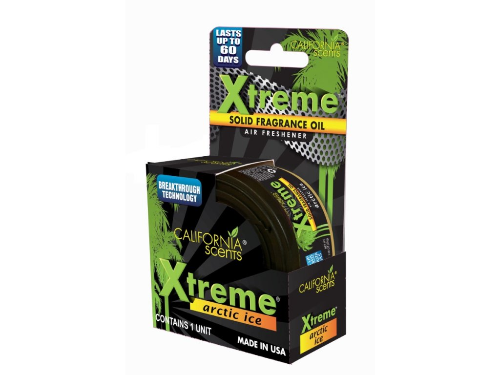 California Scents Xtreme Can LEDOVĚ SVĚŽÍ (arctic ice)