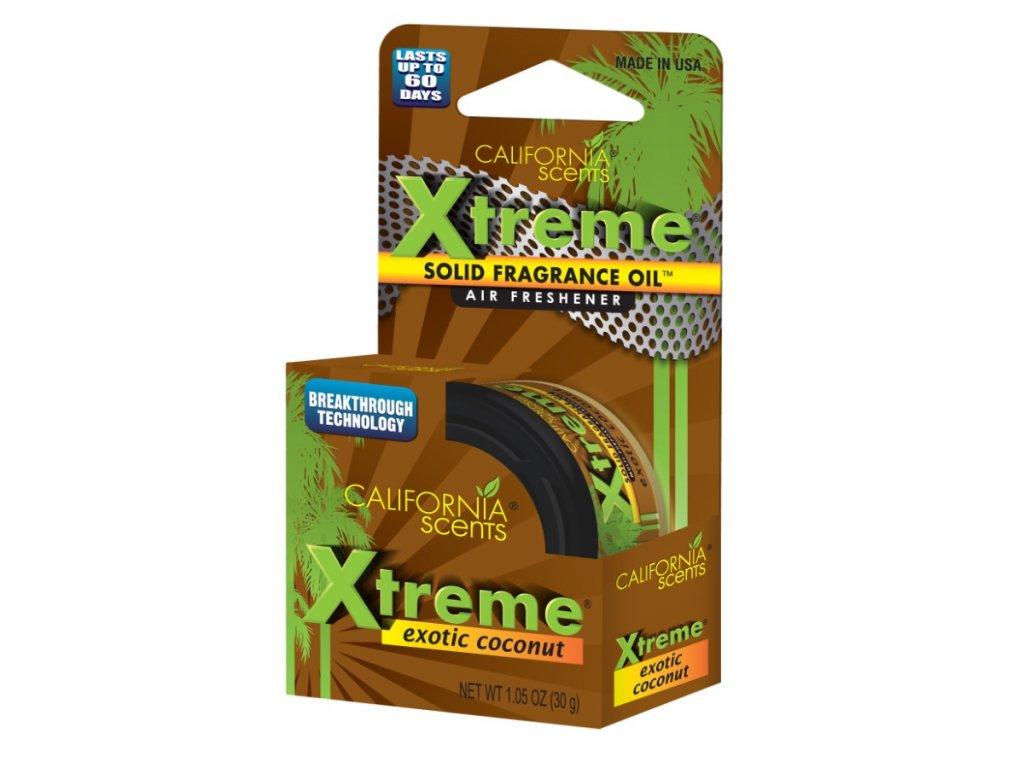 California Scents Xtreme Can EXOTICKÝ KOKOS (exotic coconut)