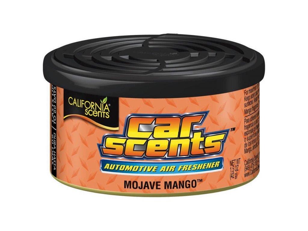 vůně do auta California Car Scents MANGO (mojave mango)