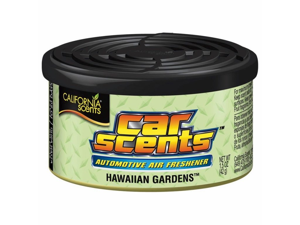 California Car Scents HAWAISKÉ ZAHRADY (hawaiian gardens)