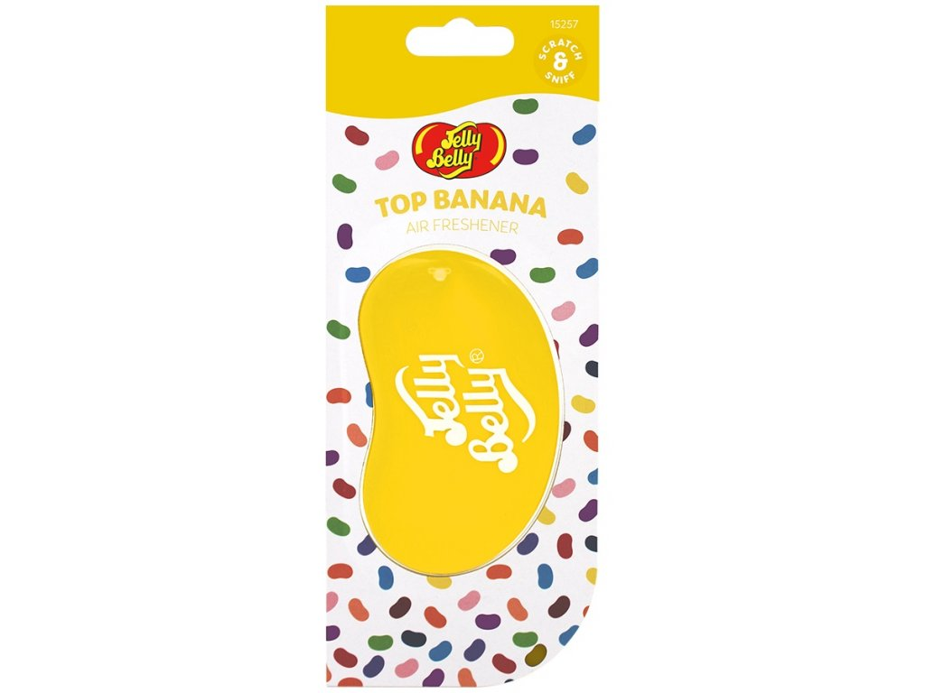 Jelly Belly 3D Classics BANÁN (Top Banana)