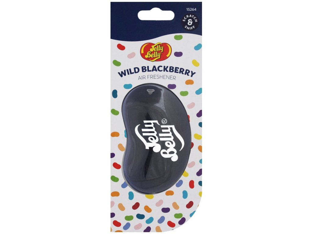 Jelly Berry 3D Classics OSTRUŽINY (Wild Blackberry)