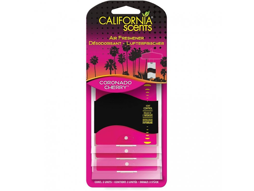 California Scents 3PK Paper VIŠEŇ (coronado cherry)