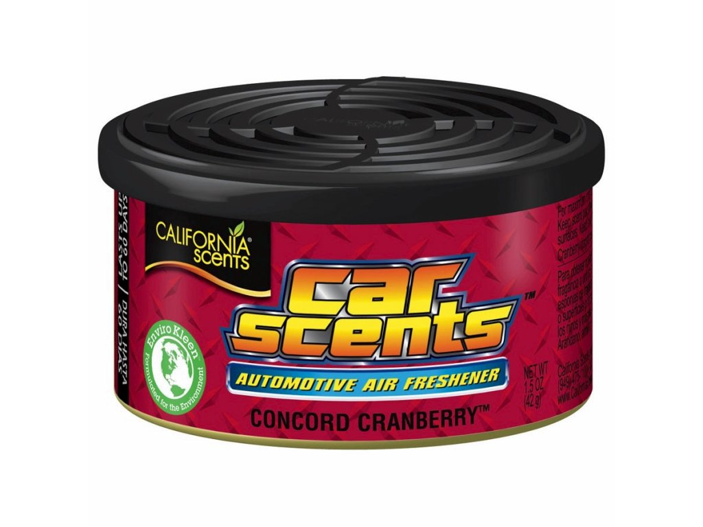 vůně do auta California Car Scents BRUSINKA (concord cranberry)