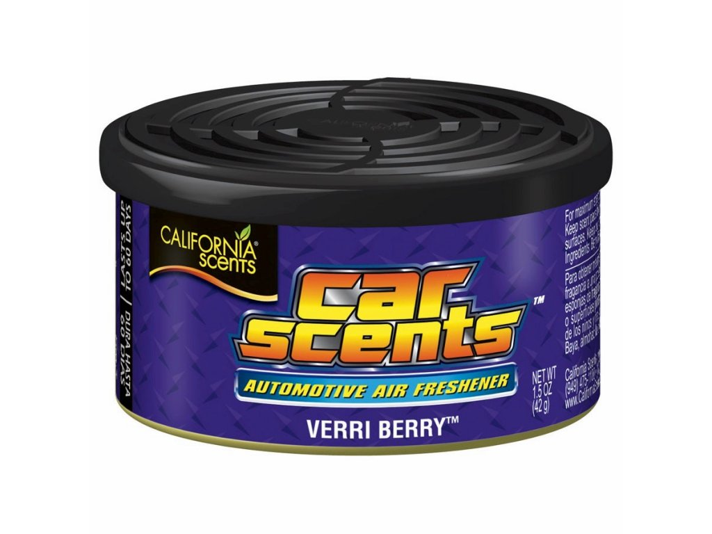 vůně do auta California Car Scents BORŮVKA (verri berry)