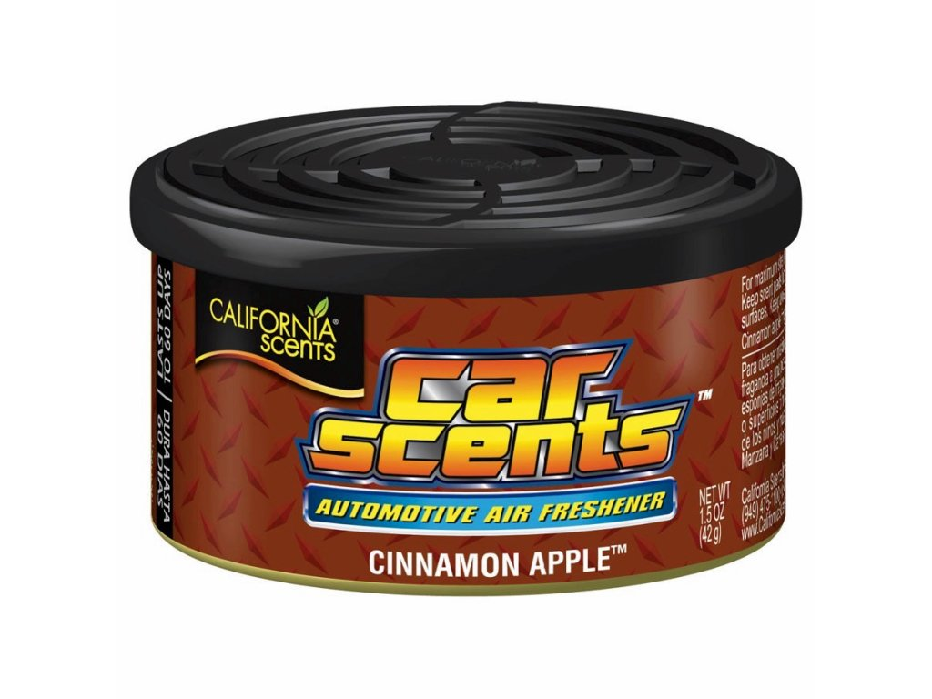 vůně do auta California Car Scents JABLEČNÝ ŠTRŮDL (cinnamon apple)