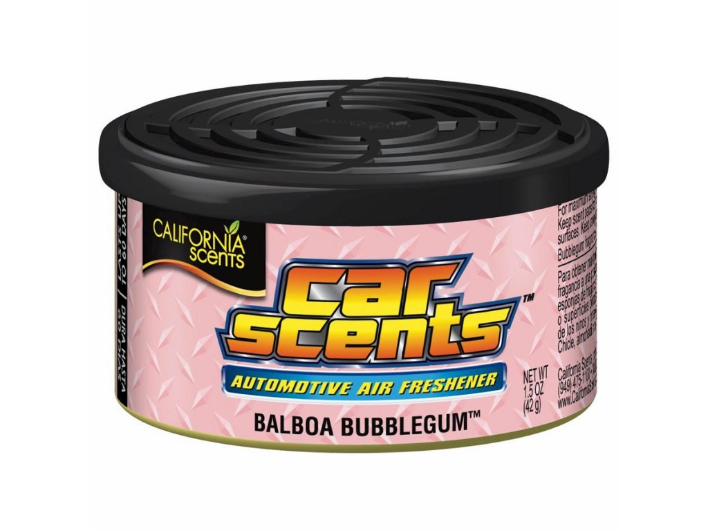 vůně do auta California Car Scents - ŽVÝKAČKA (balboa bubblegum)