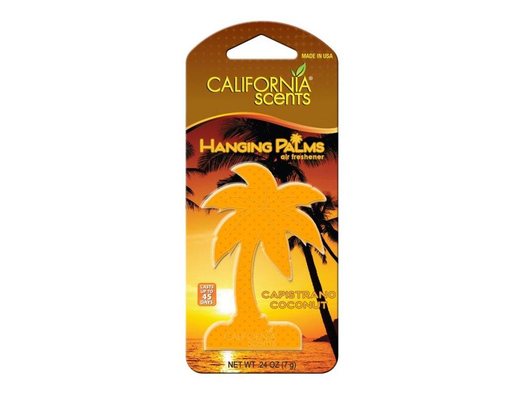 vůně do auta California Scents Hanging Palms - KOKOS (capistrano coconut)