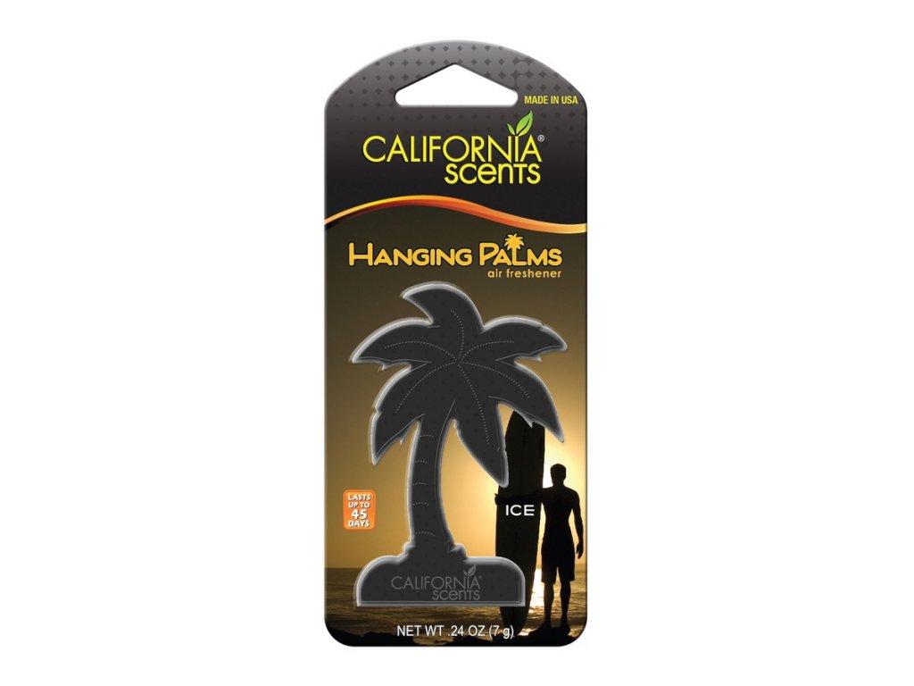 vůně do auta California Scents Hanging Palms - LEDOVĚ SVĚŽÍ (ice)