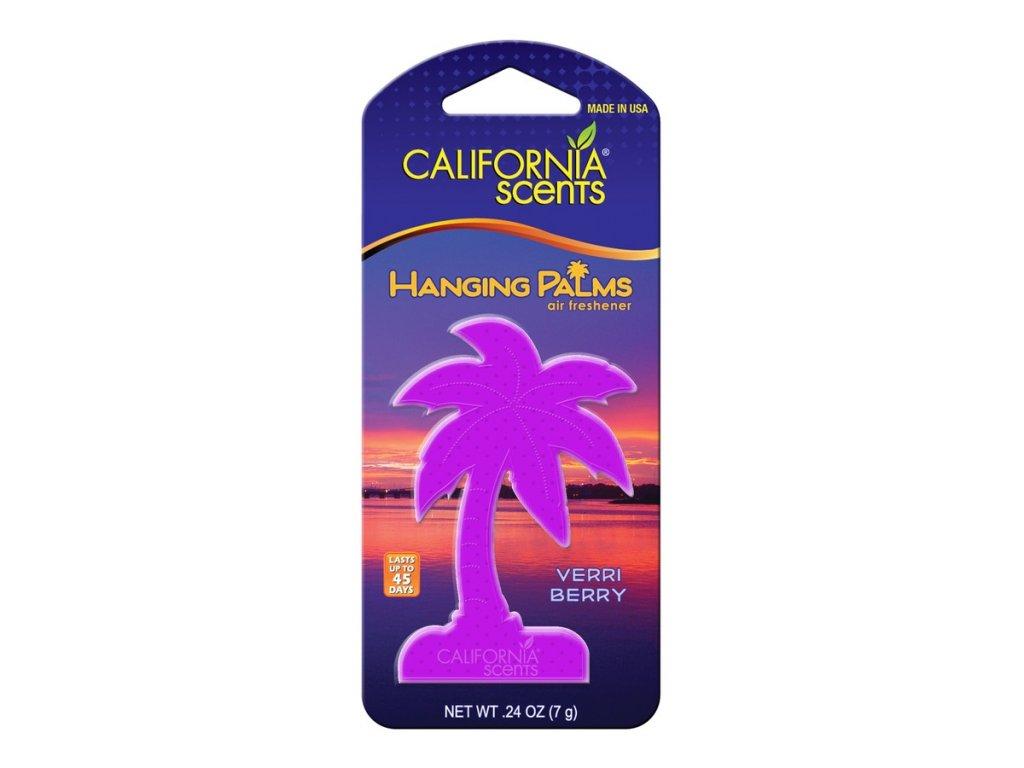 vůně do auta California Scents Hanging Palms - BORŮVKA (verri berry)