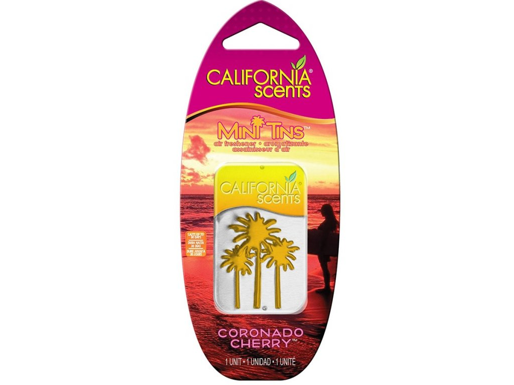 vůně do bytu California Scents Mini Tins VIŠEŇ (coronado cherry)