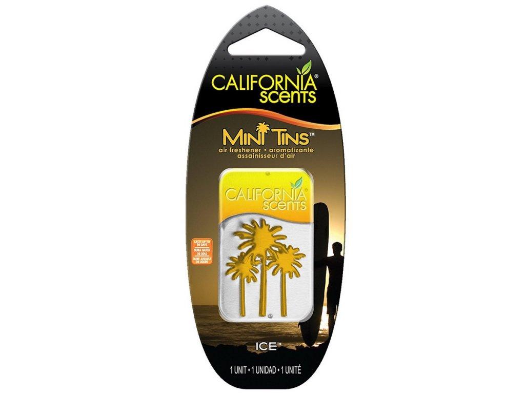 vůně do bytu California Scents Mini Tins LEDOVĚ SVĚŽÍ (ice)