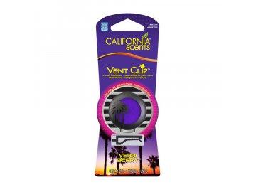 vůně do auta California Scents Vent Clip - BORŮVKA (verri berry)