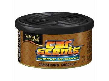 vůně do auta California Car Scents KOKOS (capistrano coconut)