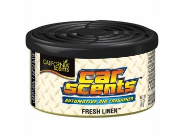 vůně do auta California Car Scents ČERSTVĚ VYPRÁNO (fresh linen)