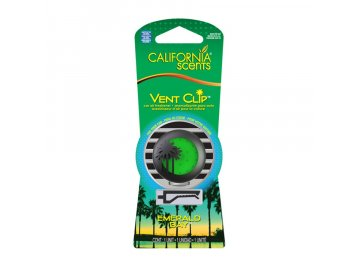 vůně do auta California Scents Vent Clip SMARAGDOVÁ ZÁTOKA (emerald bay)