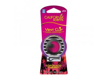 vůně do auta California Scents Vent Clip VIŠEŇ (coronado cherry)