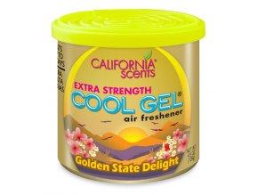 vůně do auta California Scents Cool gel - GUMOVÍ MEDVÍDCI (golden state delight)
